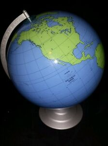 Very Rare Geographical Training Markable Desk Globe