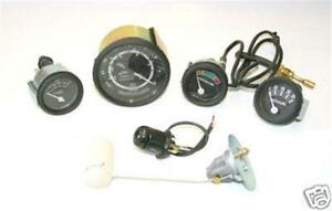 Ford 601 701 2000 4cyl Tractor 5 Speed 12v Instrument Gauge Kit