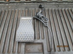 Machinist Lathe Mill Jewelers Rotary Grinder Foredom Foot Speed Control Pedal