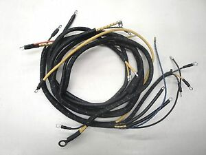 37 1937 Ford Truck Dash Wiring Exact Orignal Style V 8 New