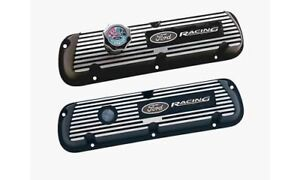 Ford Racing Efi Valve Covers M 6582 A351r Ford Small Block V8 Black Painted