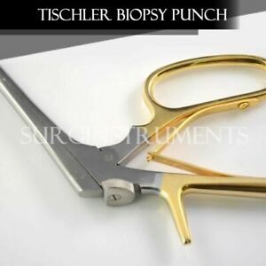 Tischler morgan Biopsy Punch Forceps Ob gyn Surgical Instruments 3mm X 7mm Bite