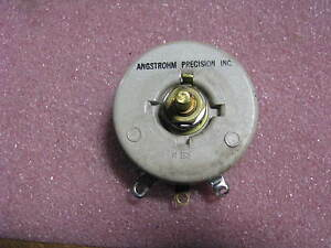 Angstrohm Precision Variable Resistor K44531 5000 Nsn 5905 00 777 8205