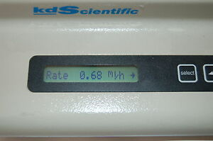 Kds 100 Kd Scientific Kds100 Laboratory Syringe Pump Lab Variable Volume Sde