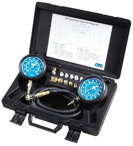 Transmission Engione Oil High low Pressure Gauge Tester Kit Tools Equipment New