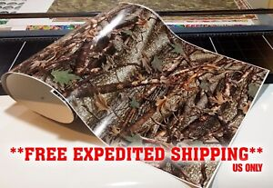 Gloss Camo Decal Made From 3m Wrap Vinyl 48x15 Truck Camo Tree Print Camouflage