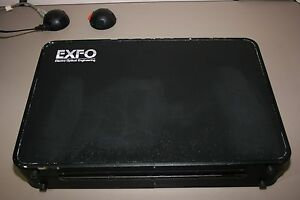 Exfo Suite Case Fiber Optics Cable Tester Source Meter Fault Locator Warranty