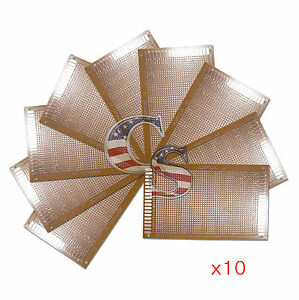 10pcs 9 X 15 Cm Diy Prototype Matrix Paper Pcb Universal Board Prototyping Kit