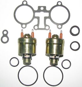Set Of Two Hi flow Tbi police Special Fuel Injectors For 1987 1996 5 7l Gm s