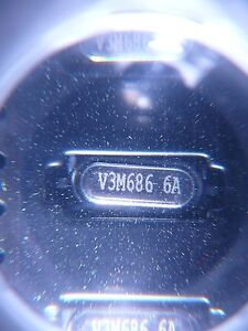 Vectron Vcxo Microprocessor Crystal 3 6864mhz Smd new Qty 10