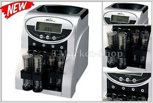 Commercial Business Coin Money Currency Cash Counter Sorting Machine Royal Rs