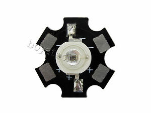 3w 730 740nm Ir Infrared High Power Led Chip Light 1 6 1 8v Star Black Pcb 20mm