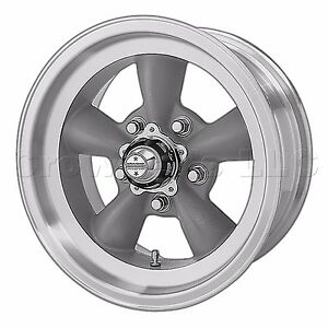 American Racing Hot Rod 15 X 6 Torq Thrust D Wheel Rim 5x120 7 Vn1055661