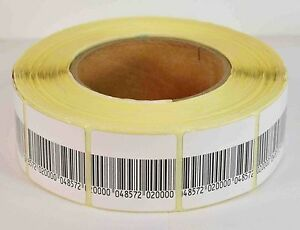 Eas Anti theft Checkpoint Security Soft Label Tag 5000pcs Rf 8 2