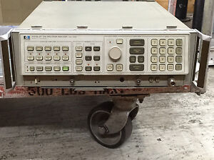 Hewlett Packard 8568b Opt E96 Spectrum Analyzer 100hz 1 5 Ghz Test Equipment