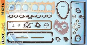Chevy Master 194 Stovebolt Full Engine Gasket Set Best 1929 31 Copper Head