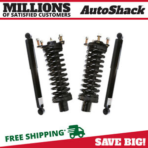 Front Complete Strut And Rear Shock Set For 2007 2011 Nitro 2002 2012 Liberty
