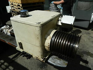 1997 Daewoo Puma 12s 12l Cnc Lathe 2 Speed Gearbox Transmission Unit Used