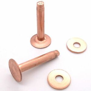 Copper Rivets Burrs 9 1 2 5 Cm 50 Pk 11282 00 By Tandy Leather