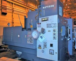 48 Mattison Model 24 Rotary Surface Grinder 25071