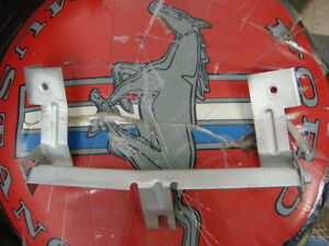 Original 67 68 Shelby Mustang Cougar Console Radio Mounting Bracket Rear Mount