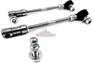 Quick Disconnect Rear Sway Bar End Links 5 5 8 Lift For Jeep Wrangler Jk