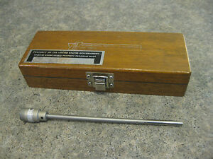 Vtg Profilometer Stem Model Lc 2 201 By Micrometrical Manufacturing
