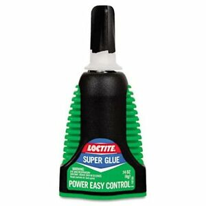 Henkel Loctite 1503244 24 Pack 4 Gram Super Glue Extra Time Control Clear