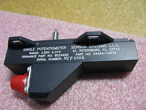 Sensor Systems Variable Resistor 13579 Nsn 5905 00 535 9364
