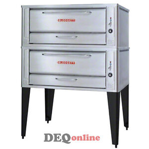 Blodgett 1048 Double Two Section Double Stacked Deck Oven