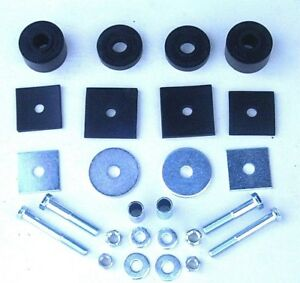 57 58 59 60 1957 1958 1959 1960 Ford Truck F100 Cab Pad Bolt Mounting Kit New