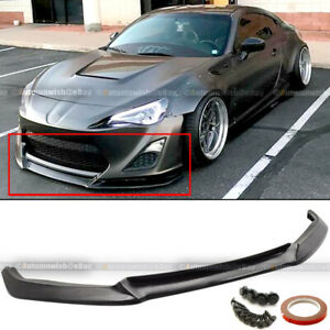 Fit 13 16 Scion Frs Urethane A Style Pu Front Bumper Chin Lip Spoiler Body Kit