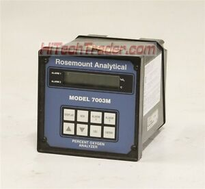 Rosemount Analytical 7003m Percent Oxygen Analyzer 11440