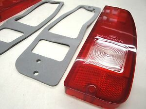 67 68 69 70 71 72 Ford Truck F100 Taillight Lens W Back Up Gasket Kit New