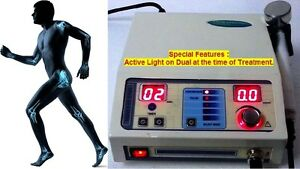 Ultrasound Therapy Machine 1 Mhz Pain Therapy Physiotherapy Unit Active Light