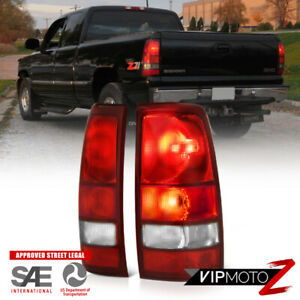 1999 2006 Gmc Sierra 1500 2500 Rear Brake Tail Lights Lamps Assembly Pair Lh rh