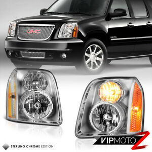 For 07 14 Gmc Yukon xl 1500 2500 Denali Headlight Signal Driving Lamp Left right