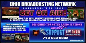 Start Your Own Internet Broadcasting Network With Streaming Radio Station On Air
