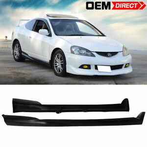 02 06 Acura Rsx Mug Style Side Skirt Rocker Panels Ready For Paint Pu
