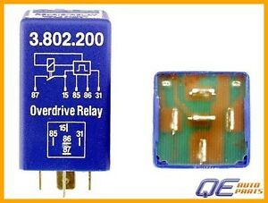 K A E Overdrive Relay Blue Volvo 242 244 245 262 264 265 1981 1982 1983 1984