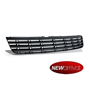 Fit 97 01 Passat B5 Front Badgeless Abs Plastic Euro Sport Grille Grill