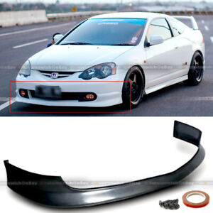 Fits 02 03 04 Rsx Dc5 Type R Itr Tr Style Front Bumper Chin Lip Body Kit Spoiler