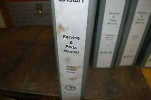 Crown Rr Rd 5200s Reach In Truck Forklift Service Repair Parts Manual 2012 Shop