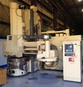 46 Bullard Dyn au tape High Column Cnc Vertical Boring Mill 23297