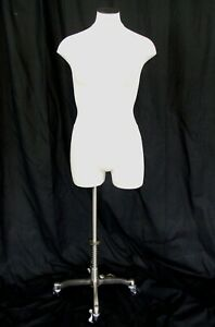 Fusion Specialties Female Signature Dress Form Mannequin Adjustable Metal Stand