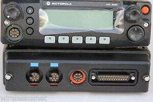 Motorola Xtl2500 P25 Digital Mobile 700 800mhz Model M21urm9pw1an