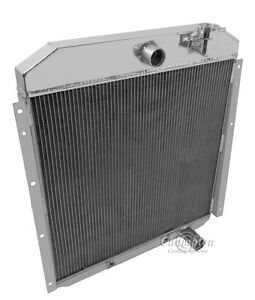 1955 1956 1957 1958 1959 Gmc Truck 3 Row Core Aluminum Champion Wr Radiator