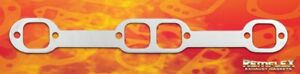 Remflex 2037 Exhaust Header Gaskets Small Block Chevy 18 Degree Square Port