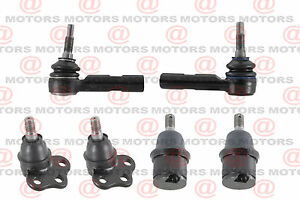 2000 2004 Dodge Dakota Tie Rod End And Ball Joint Front Lower And Upper 4wd 4x4
