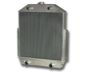 1949 1953 Ford Car 8 Cyl Flat Head M T Aluminum Radiator Made In The Usa
